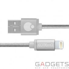 Кабель COTEetCI M30i Lightning Cable 2m Silver