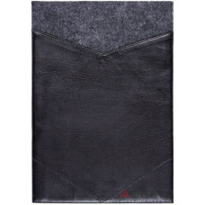 Фетровый чехол-конверт Gmakin для Macbook Pro 13 New с экокожей (GM09-13New)