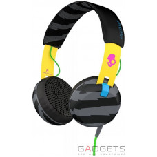 Навушники Skullcandy Locals Only/Yellow/Black Grind On-Ear w/tap Tech (S5GRHT-466)