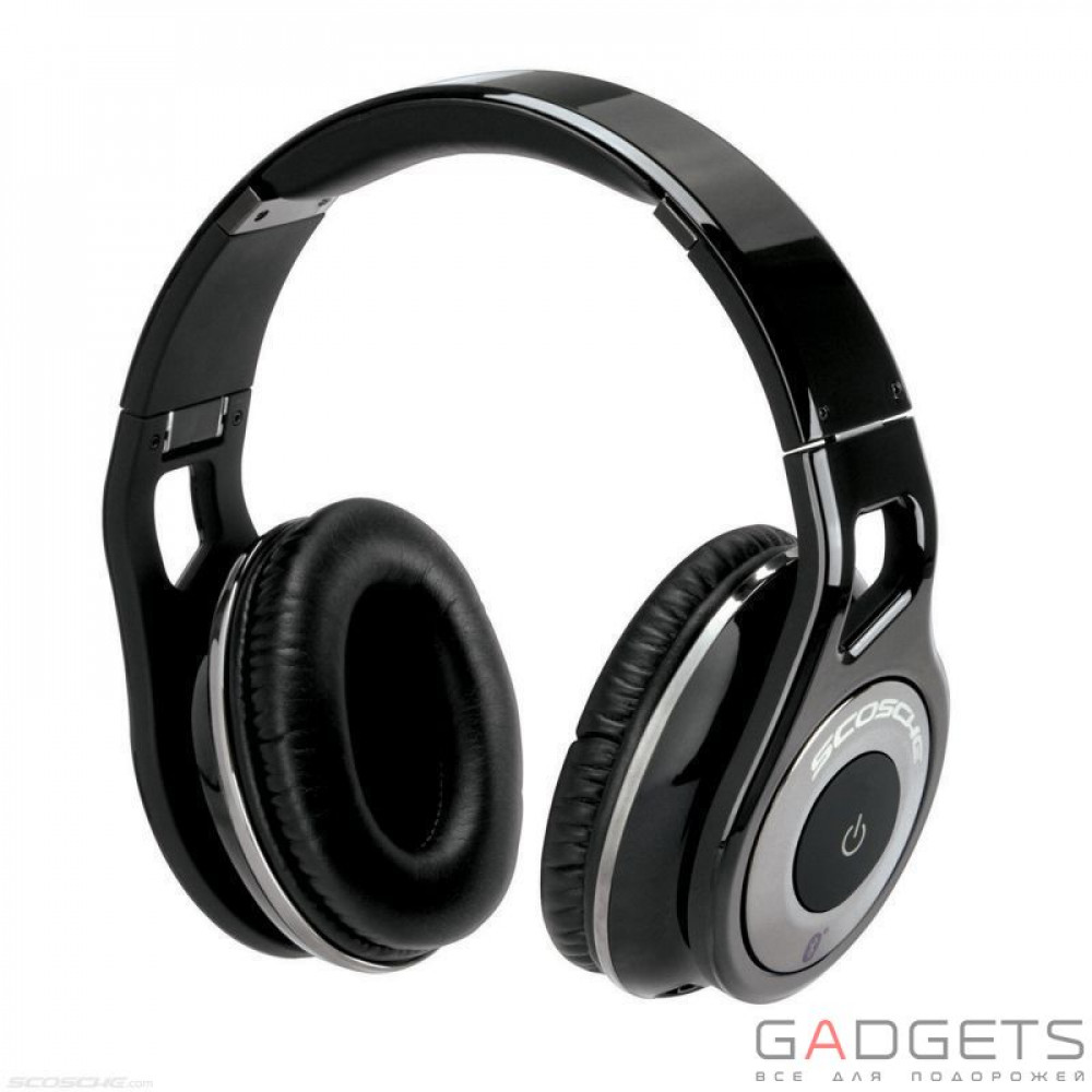 Фото Навушники Scosche Reference Grade Bluetooth Headphones (Dark)