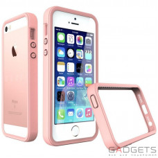 Бампер Evolutive Labs RhinoShield Crash Guard Shell Pink для iPhone 55SSE