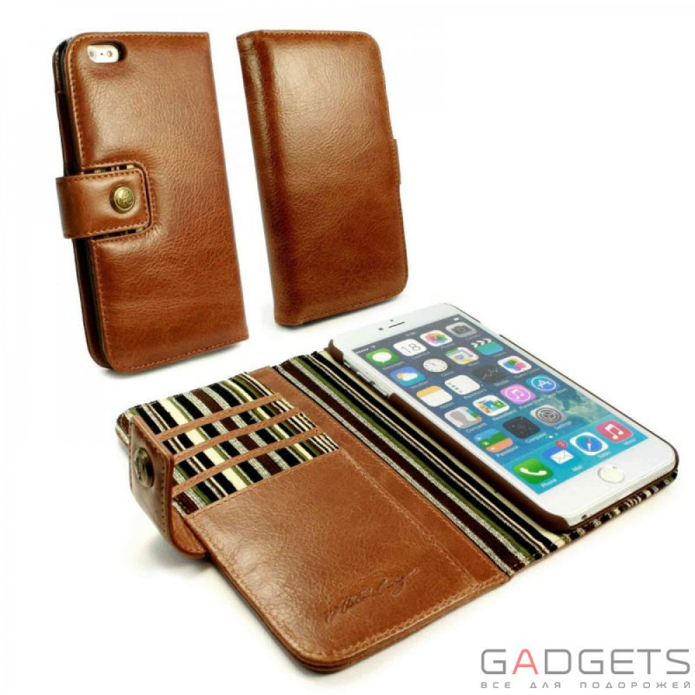 Фото Чехол Alston Craig Vintage Leather Wallet Case for iPhone 5 / 5s (G10_25)