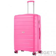 Чемодан TravelZ Big Bars (L) Pink