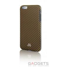 Чехол Evutec SI Karbon Case для iPhone 6/6s Brewster Коричневый/черный (AP-006-SI-K06)