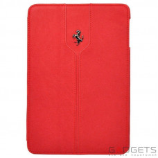 CG Mobile Ferrari Leather Folio Case Montecarlo Collection Red for iPad Air (FEMTFCD5RE)