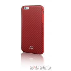 Чехол Evutec SI Karbon Case для iPhone 6/6s Lorica Оранжевый/красный (AP-006-SI-K03)