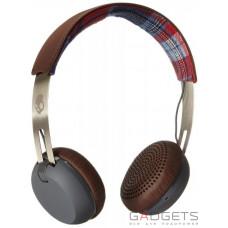Навушники Skullcandy Americana/Plaid/Gray Grind On-Ear w/tap Tech (S5GRHT-470)