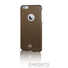 Чехол Evutec S Karbon Case для iPhone 6/6s Brewster Коричневый/черный (AP-006-CS-K06)