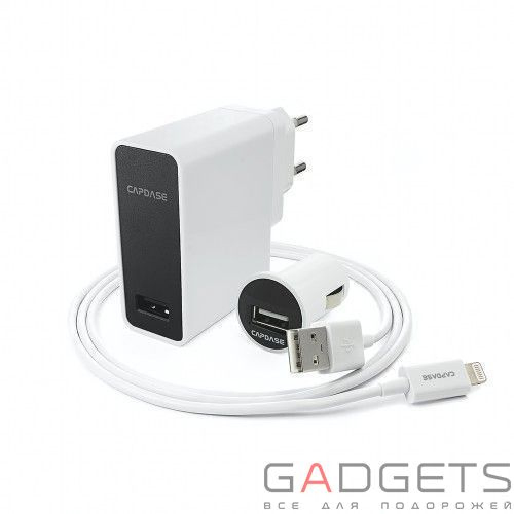 Фото Адаптер Capdase Power Kit Ampo K1 Lightning (TKCB-AK02)