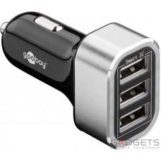 Зарядное устройство Goobay Triple USB 5.5A