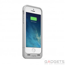 Mophie Juice Pack Helium Silver 1500 mAh for iPhone 5/5S (2376-JPH-IP5-SLV-I)