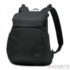 Жіночий рюкзак антизлодій Pacsafe Citysafe CS300, 6 ступенів захисту, чорний