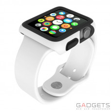 Чохол Speck для Apple Watch 42mm CandyShell Fit WhiteBlack (SP-SPK-A4147)
