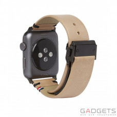Ремешок Decoded Leather Straps for Apple Watch Sahara (D7AW42SP2SA)