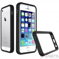Бампер Evolutive Labs RhinoShield Crash Guard Charcoal Black для iPhone 5/5S/SE