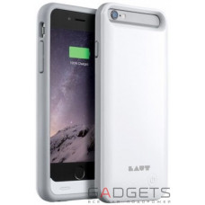 Чехол-батарея Laut Battery Case для iPhone 6/6s Белый (LAUT_iP6_NDR_W)