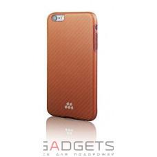Чехол Evutec SI Karbon Case для iPhone 6/6s Kalantar Коричневый (AP-006-SI-KA5)