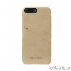 Чехол Decoded Leather Back Cover для iPhone 7 Plus Сахара (D6IPO7PLBC3SA)