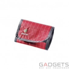 Кошелек Deuter Wallet цвет 5003 raspberry check