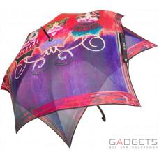Зонт трость женский Perletti Chic Красный коты (21213;0910)