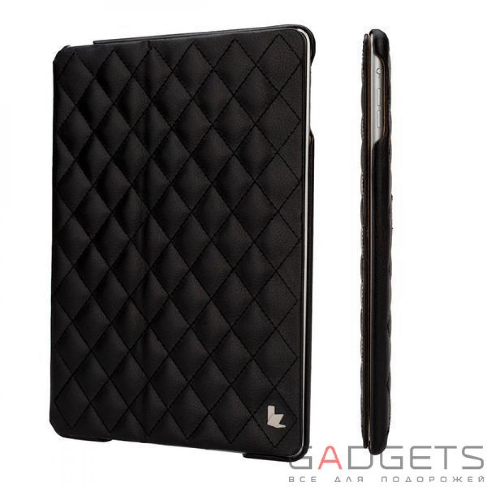 Фото Jison Case Quilted Leather Smart Case Black for iPad Air (JS-ID5-02H10)