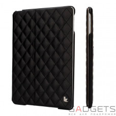 Jison Case Quilted Leather Smart Case Black for iPad Air (JS-ID5-02H10)