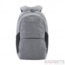 Рюкзак антивор Pacsafe Metrosafe LS450, 6 степеней защиты, темно-серый