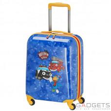 Чемодан на 4-х колесах Travelite Heroes Of The City (S) 28 л Blue (TL071687-20)