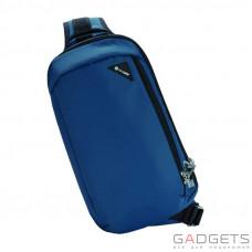 Сумка через плечо антивор Pacsafe Vibe 325, 5 степеней защиты, синий
