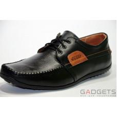 Взуття чоловіче ЕССО мокасини чорні