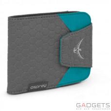 Кошелек Osprey QuickLock RFID Wallet Tropic Teal O/S, бирюзовый