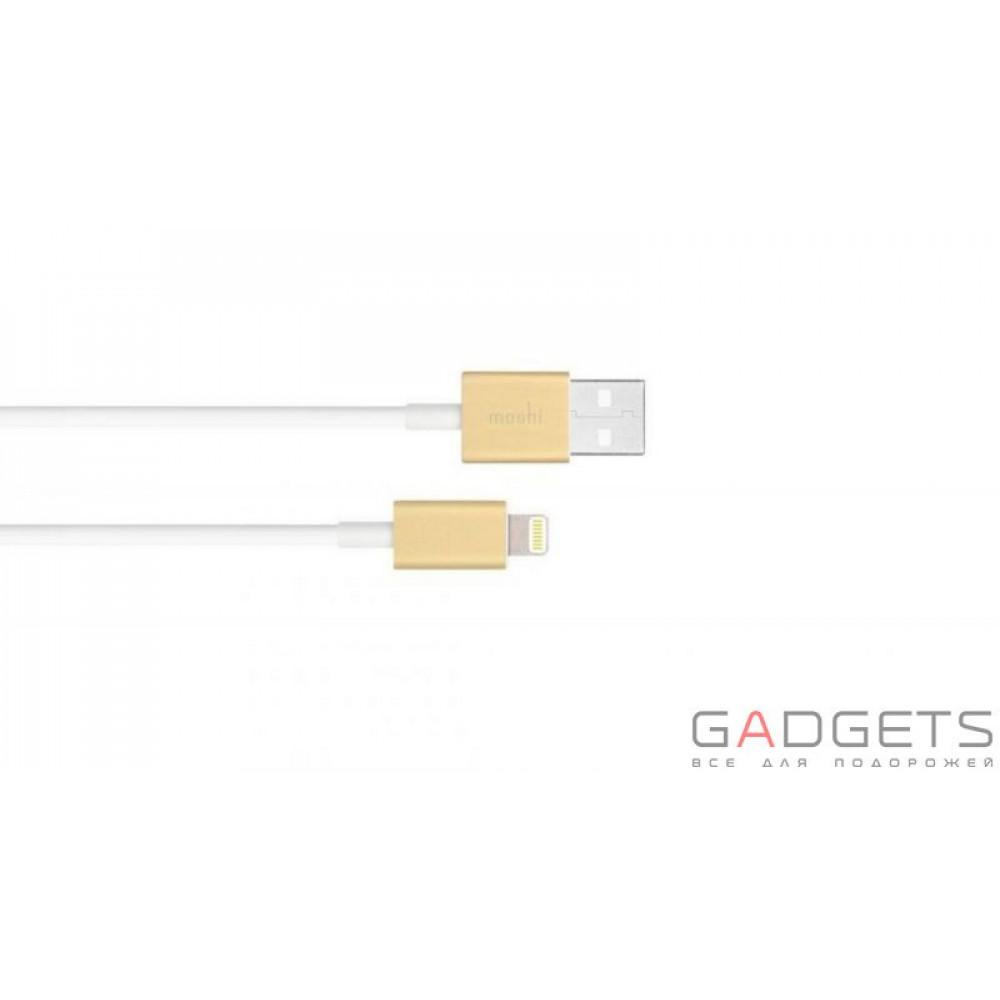 Фото Кабель Moshi Lightning to USB Cable Gold (1 m) (99MO023221)