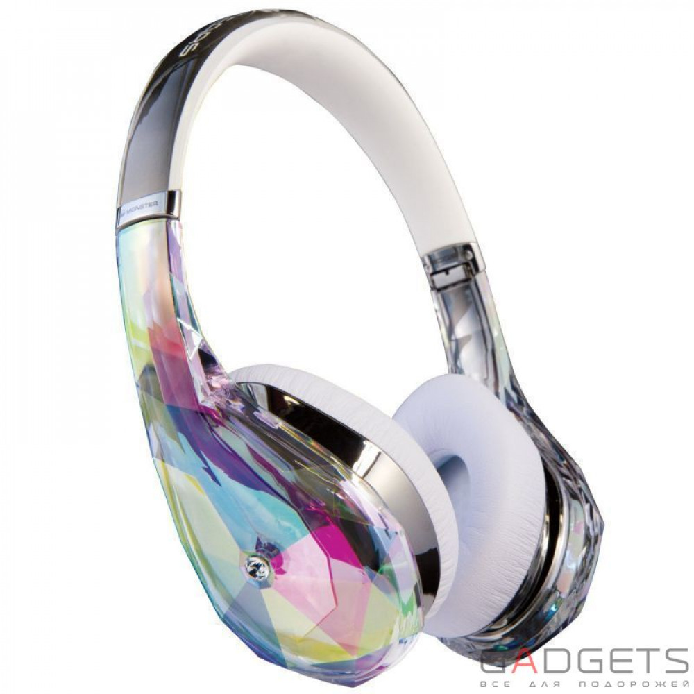 Наушники Monster® Diamond Tears Edge On-Ear Headphones (Crystal)