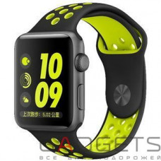 Ремешок COTEetCI W12 Apple Watch Nike band 42mm (WH5216-BK-YL)