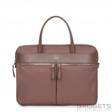Сумка Knomo Hanover Slim Briefcase 14 Fig (KN-119-101-FIG)