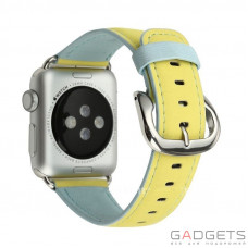 Ремінець Baseus Colorful Watchband для Apple watch 42mm Yellow-blue