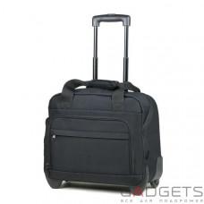 Сумка дорожня на колесах Members Essential On-Board Laptop 21 Black