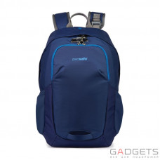 Рюкзак антивор для ноутбука Pacsafe Venturesafe 15L, 5 степеней защиты, синий