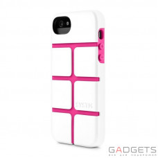 Защитный чехол Incase SYSTM Chisel Case White/Pink for iPhone 5/5S (SY10036)