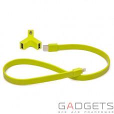 Автомобільний зарядний пристрій TYLT для iPhone 5S Y-CHARGE Car Charger Green (IP5-YCHGG-T)