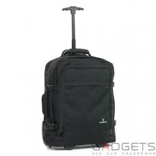 Сумка-рюкзак на колесах Members Essential On-Board 33 Black