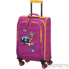 Чемодан на 4-х колесах Travelite Heroes Of The City (S) 34 л Pink (TL081688-17)