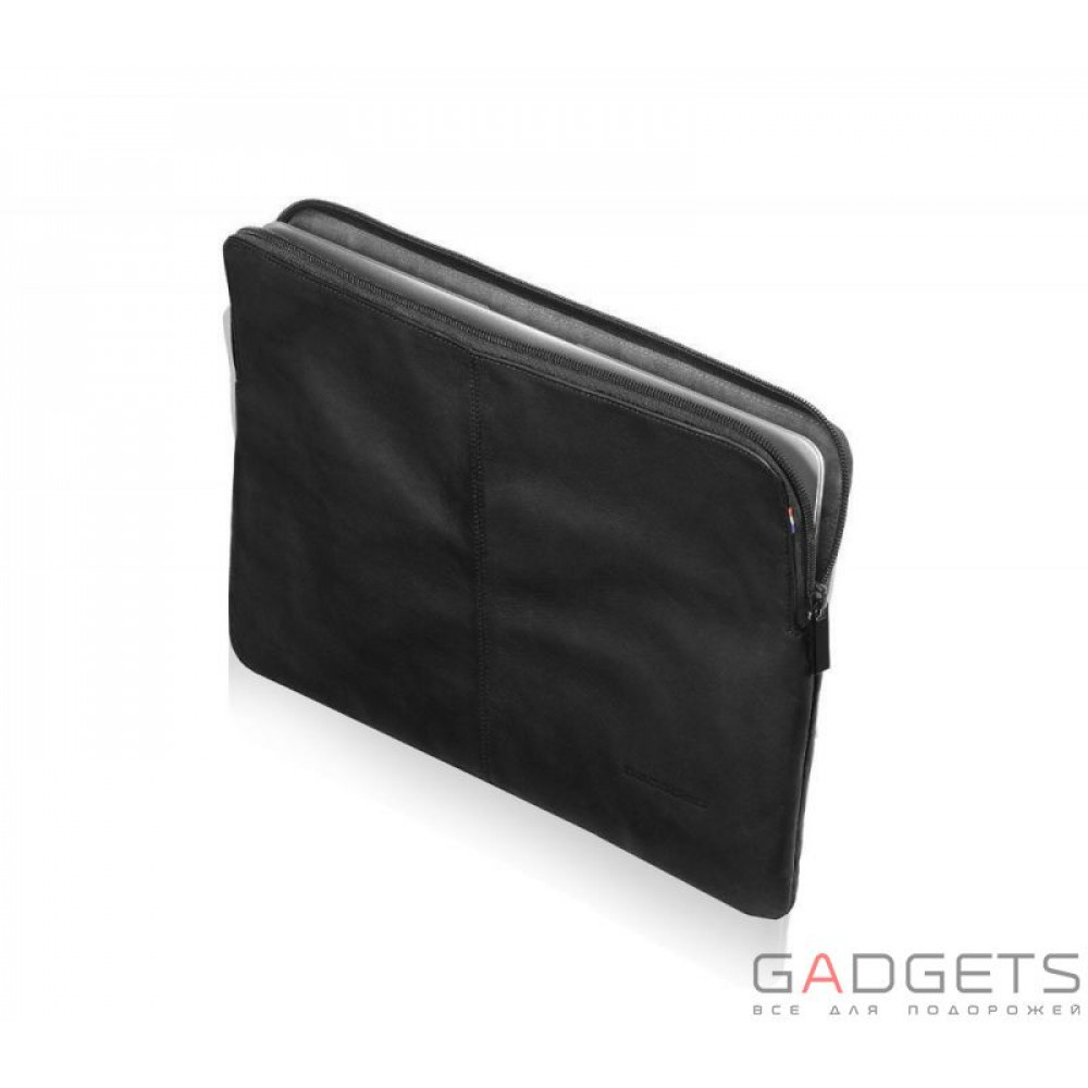Чехол Decoded Leather Sleeve with Zipper Pocket 15'' (D3SZ15BK)