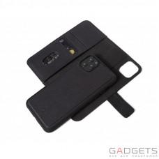 Чехол-книга и чехол-накладка 2 в 1 Decoded для iPhone 11 Pro, кожаный, черный