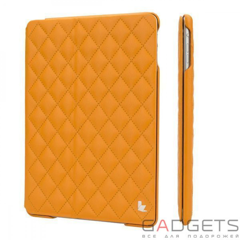 Фото Jison Case Quilted Leather Smart Case Orange for iPad Air (JS-ID5-02H80)