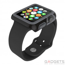 Чохол Speck для Apple Watch 42mm CandyShell Fit Black/Slate Grey (SP-SPK-A4135)