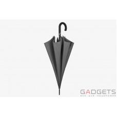 Зонт трость мужской Perletti Technology Черный клетка (21612.3;7669)