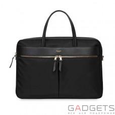 Сумка Knomo Hanover Slim Briefcase 15 Black (KN-119-104-BLK)