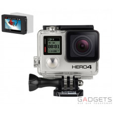 Камера GoPro BLACK HERO4 + подарок LCD BacPac HERO3 +