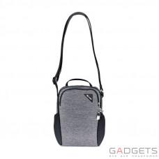 Сумка, компакт, антивор Pacsafe Vibe 200, 5 степеней защиты, гранитный меланж